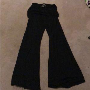 Hard Tail fold over yoga pants M